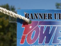 Banner Ups Crystal Clear Power Tabs