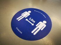X8 Easy Apply Floor Sticker (137 cm x 50 m)